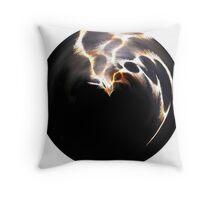 Firework orb Throw Pillow