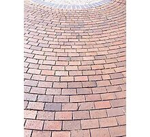Brick Path Photographic Print