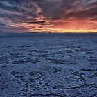 Salt Flat Sunrise by Zak Baker