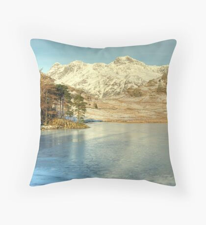 Blea Tarn , Langdale Throw Pillow