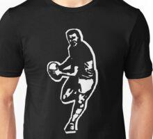 rugby t-shirt on dark Unisex T-Shirt