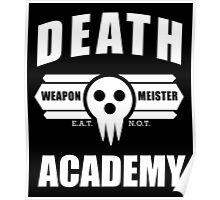 Death Weapon Meister Academy (White) Poster