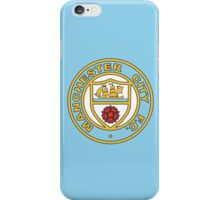 Manchester City Retro Logo iPhone Case/Skin