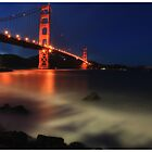 Golden Gate @ Dusk by Chris Odchigue