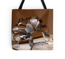 Holiday Ribbon Tote Bag