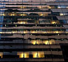 Manhattan reflection 1 by luvdusty