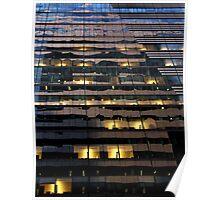 Manhattan reflection 1 Poster