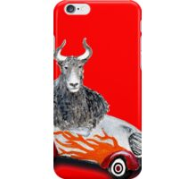 Yak on Wheels iPhone Case/Skin