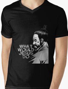 WWJD-Paul monroe Mens V-Neck T-Shirt