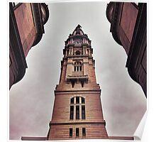 Philadelphia Town Hall. Poster