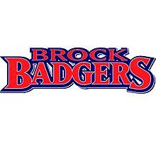 Brock University Logo (Name) Photographic Print