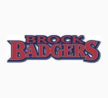 Brock University Logo (Name) One Piece - Short Sleeve
