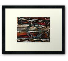 Knot Eye Framed Print