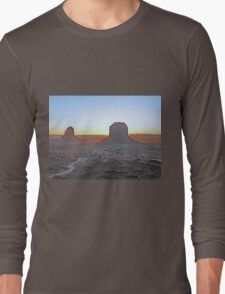 Navajo Sunrise Long Sleeve T-Shirt