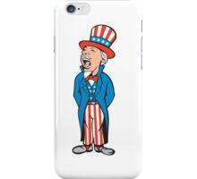 Uncle Sam American Shouting Cartoon iPhone Case/Skin