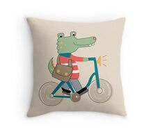 Croc Throw Pillow