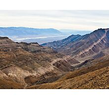 Aguereberry Point - Death Valley by Rick Gustafson