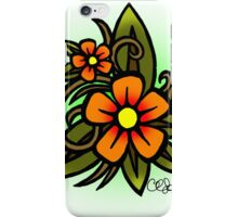 Flowers Dull iPhone Case/Skin