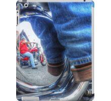 Denim, Boots & Chrome iPad Case/Skin
