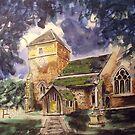 Parish church, Cranleigh by Ivor