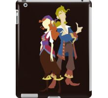 Elaine & Guybrush iPad Case/Skin