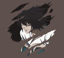 death note L anime manga shirt by ToDum2Lov3