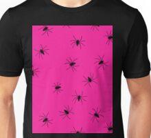 hot pink spider Unisex T-Shirt