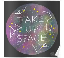 Take Up Space Poster