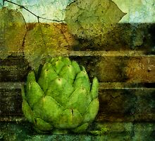 Artichoke & Leaves by Barbara Ingersoll