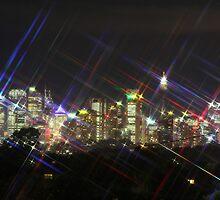 Sydney by Night by Bennymiata
