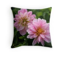 Lovely In Pink! Throw Pillow