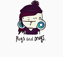 plugs and drugs Women's Fitted Scoop T-Shirt