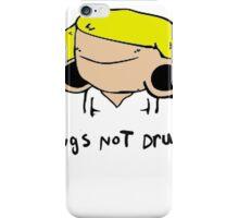 plugs not drugs (female)' iPhone Case/Skin