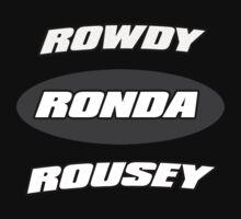 Rowdy Ronda Rousey by MynameisJEFF
