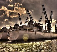 Ships Out To Sea by dw3photography