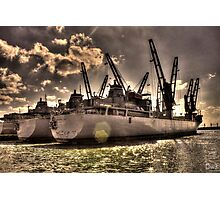 Ships Out To Sea Photographic Print