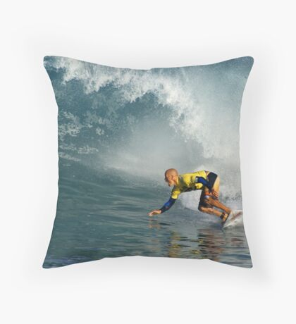 Pipeline Master Throw Pillow