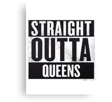 straight out of queens Canvas Print