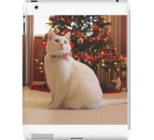 Christmas Cat Photograph iPad Case/Skin
