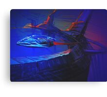 Space Station Sketch Canvas Print