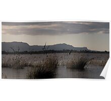 Sunset over Lake Fyans Poster