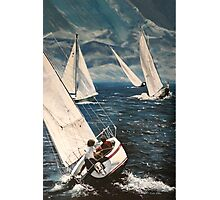 Catching the Afternoon Wind Photographic Print