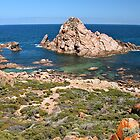 Sugarloaf Rock, South Western Australia by Cindy Ritchie