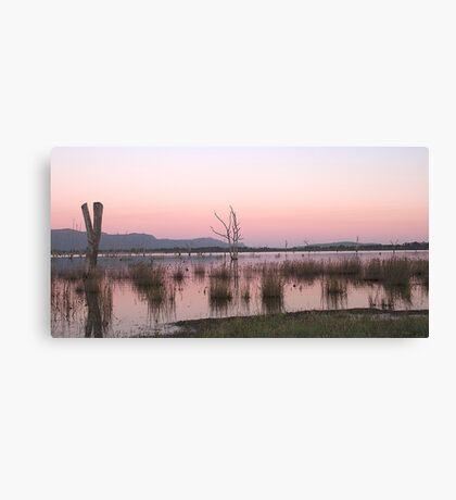 Sunrise at Lake Fyans Canvas Print