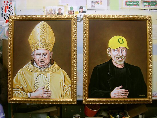 What do the Pope and Phil knight have in common? by Sam Dantone