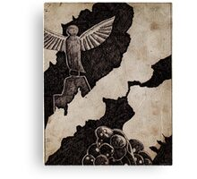The Plague Doctor- Angel Canvas Print