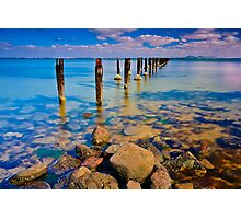 The Dell at Clifton Springs #3 Photographic Print