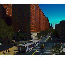New York Street Scene Photographic Print