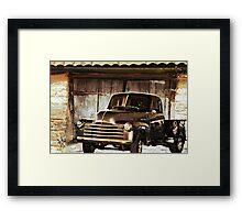 Days of Old Framed Print