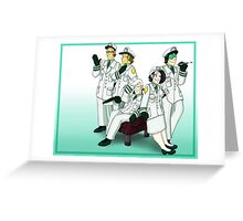 Formal North America Sector Greeting Card